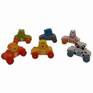 Auto's dierfiguren [assortiment 6 in zakje] prijs per stuk