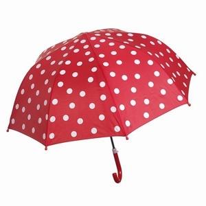 Paraplu Rood met witte stippen