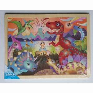 Puzzel legpuzzel Dino groot (24 stukjes)