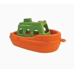 Anbac Toys - Veerboot, oranje/groen