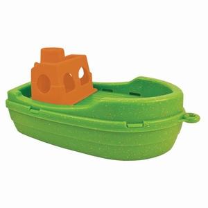 Anbac Toys - Vissersboot, groen/oranje