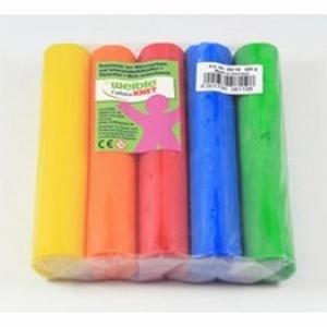 Fantasia Kneedwas Rol 5 kleuren totaal 500 gram