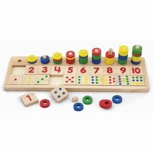 Tel- sorteerspel - Match de getallen - Viga Toys