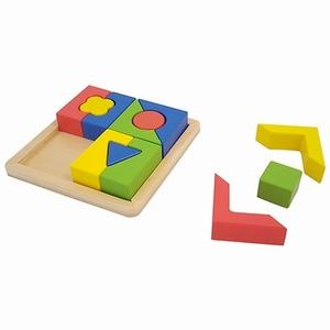 Blokken/puzzel dik Gevormd