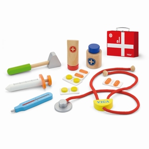 Dokterskoffer - 11 delig - Viga Toys