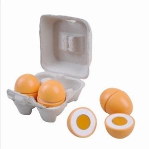 4 Eieren met klittenband in een doosje