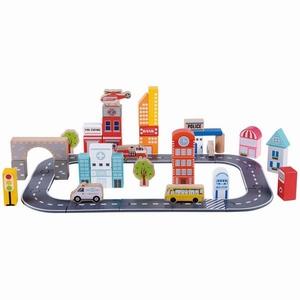 Blokken - Stad - 49 stuks - Lelin Toys