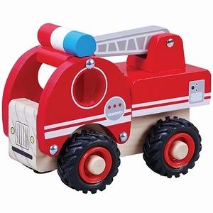 Brandweerauto met rubberen wielen