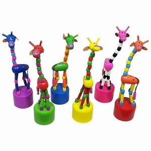 Drukpop Giraffe gekleurd