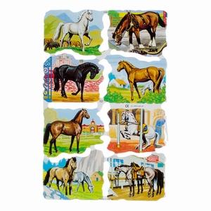 Poëzieplaatje (10st) Paarden div.