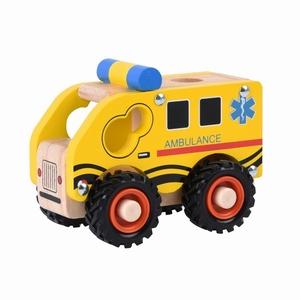 Ambulance met rubberen wielen