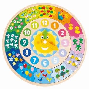 Klok Puzzel - Zon - New Classic Toys