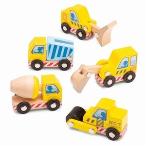 Bouwvoertuigen set - 5 stuks - New Classic Toys