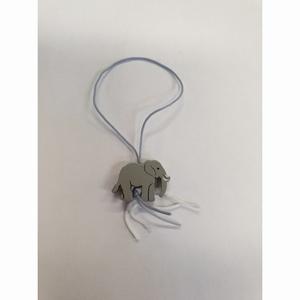 Gelukspoppetjes Olifant grijs 100 stuks (14164)