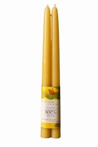 Dipam bijenwaskaars 1,5 x 20 cm 5h per 9 paar