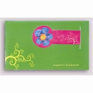 Magnetische Boekenlegger - Blue Flower, aanbieding -55%
