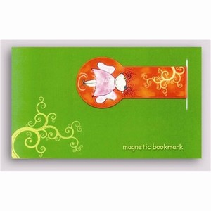 Magnetische Boekenlegger - Fairy on Red, aanbieding -55%