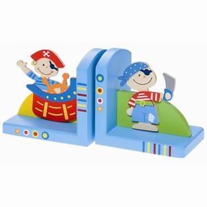 Boekensteunset Piraat (blauw)
