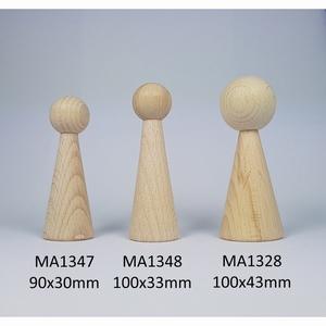Kegelpoppetje - Lang 100x43 mm