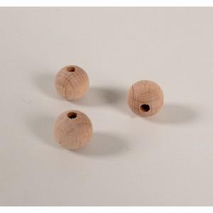Kraal 12 mm blank - zakje 50 stuks