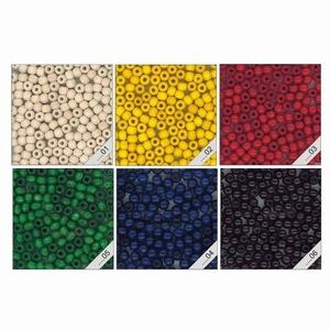 Kraal 12 mm gekleurd - zakje 38 stuks