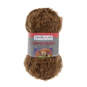 Puppengarn Boucle/mohair 50 gram / bol - kleur 455