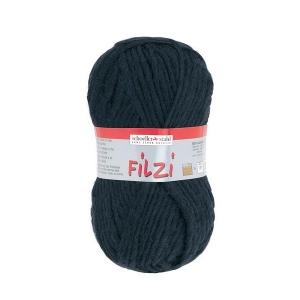 Filzi 100% viltwol 50 gram / bol kleur 002 zwart