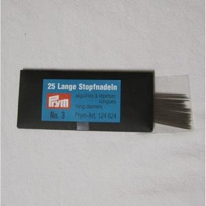 Poppennaald lange stopnaald 7 cm per 25 stuks