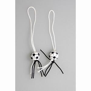 Gelukspoppetjes Voetbal zwart/wit 100 stuks (14026)