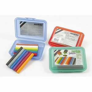 Fantasia Kneedwas Klikbox Mini Rol 12 kleuren, uitverkocht