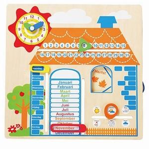 Kalender met jaargetijden; Huis