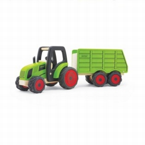 Tractor met aanhanger