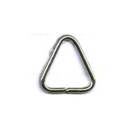 Aanbuigtriangel groot 14mm zilver 20 stuks (tbv 50mm en >)