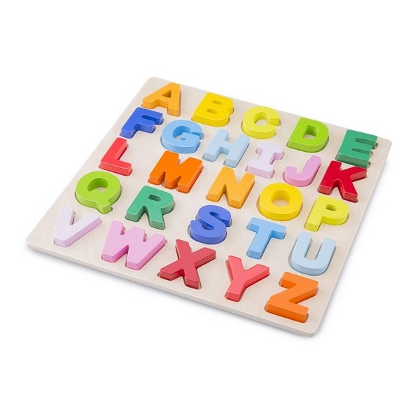 Alfabet puzzel hoofd letters - grote stukken