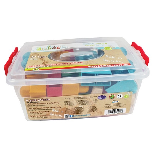 Anbac Toys - Bouwblokken 40 stuks = -20%
