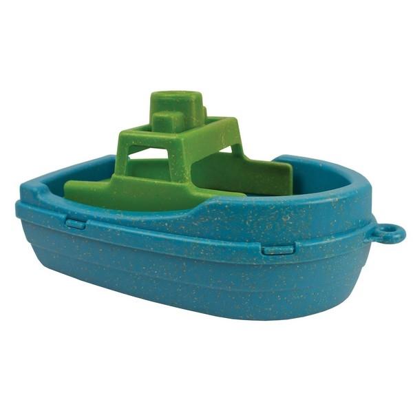 Anbac Toys - Motorboot, blauw/geel
