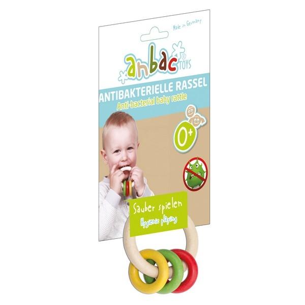 Anbac Toys - Rammelaar - Multikleur