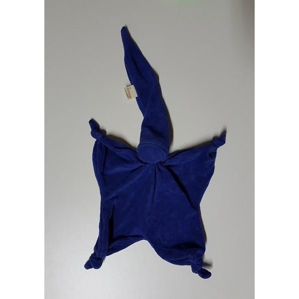 Badstof Ster, Blauw Donker