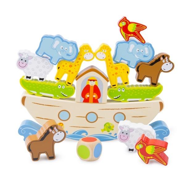 Balansspel - Stapelfiguur - Ark van Noah