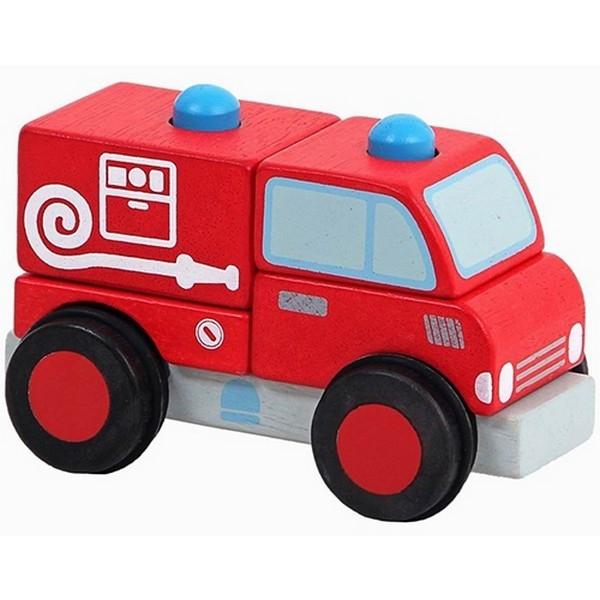Blokkenauto brandweer - Mentari 2041