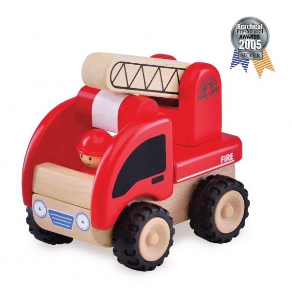 Brandweerauto - Wonderworld 4003