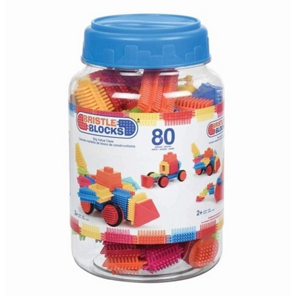 Bristle Blocks - in Jar - 80pcs
