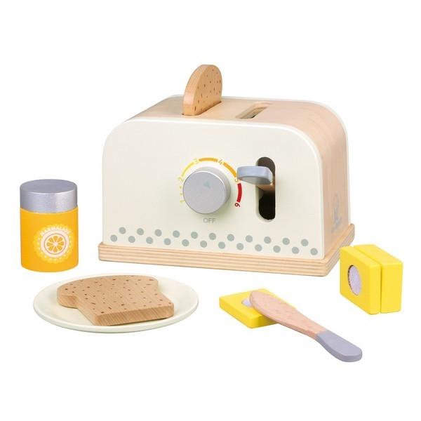 Broodrooster - Ontbijtset - Wit