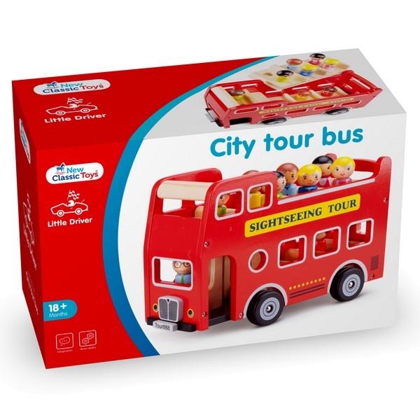 Bus - City Tour met 9 speelfiguren