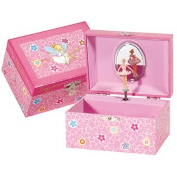 """Byouxmuziekdoos Roze 1 ballerina """"Fairy Dust"""" (32173)"""