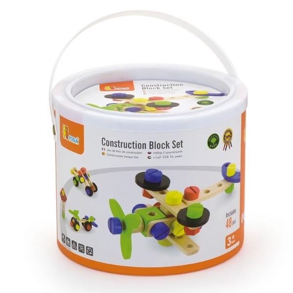 Constructie Bouwset - 48 delig - Viga Toys