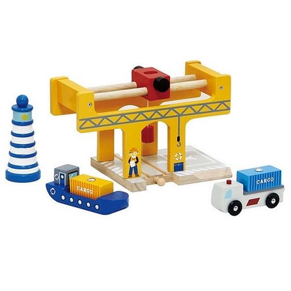 Container overslag - Dockside; 6 delig - Mentari 6769
