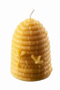 Dipam bijenwas Korfkaars 10h per 6 stuks