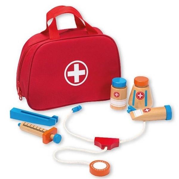Dokterstas met accessoires 11-delig - Jouéco