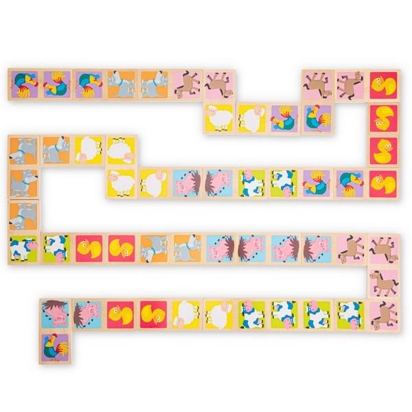 Domino - Dieren - New Classic Toys